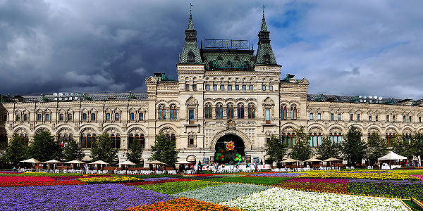 1-day Taste of Moscow *COMFY* by Air/Train from St. Petersburg